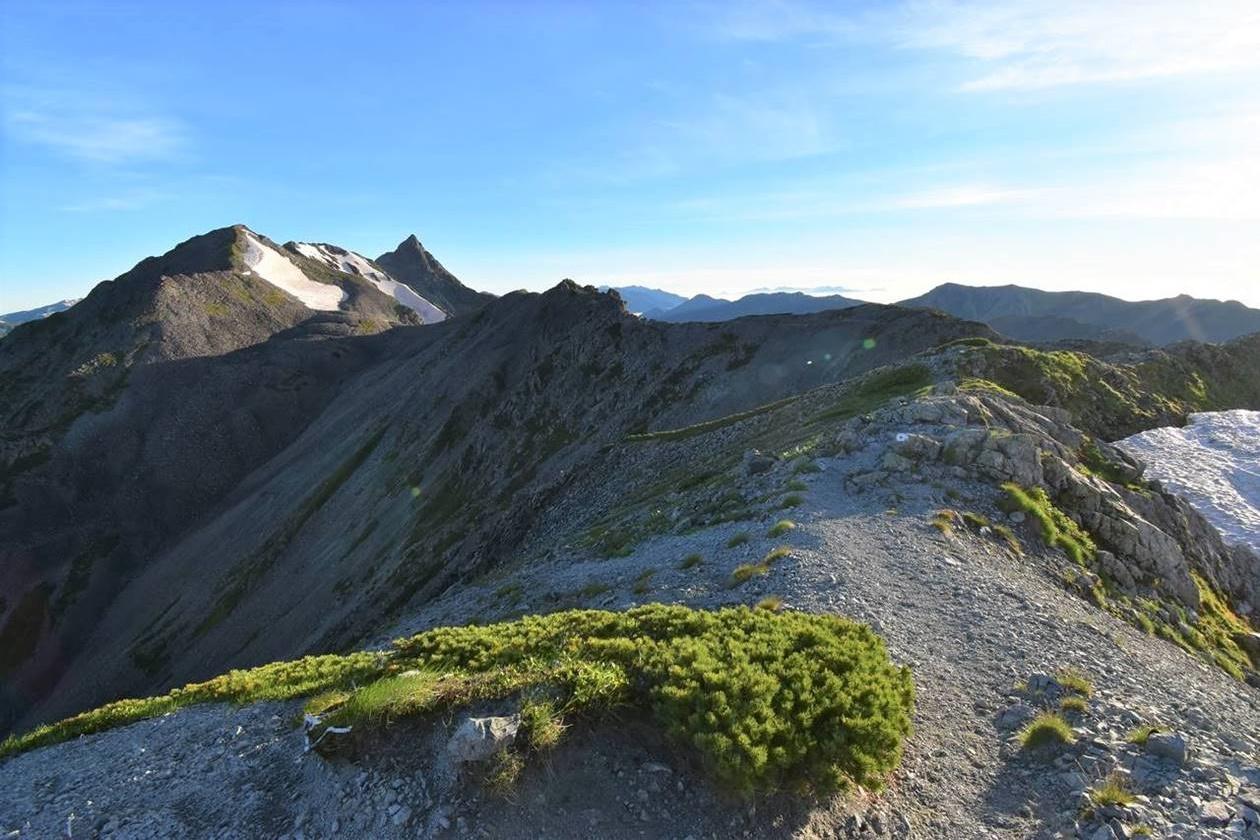 中岳(北アルプス、3084m)