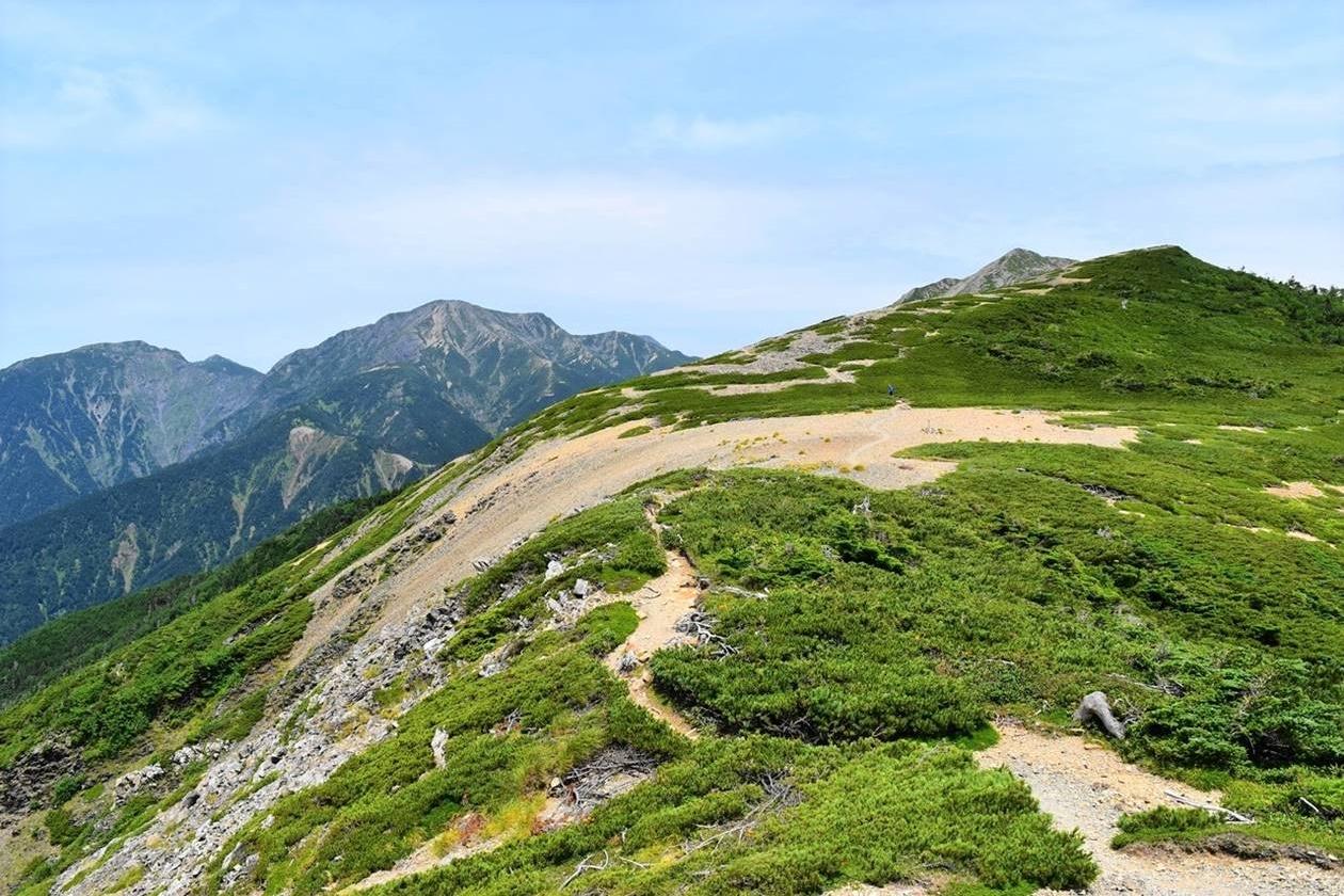 聖岳(南アルプス、3013m)