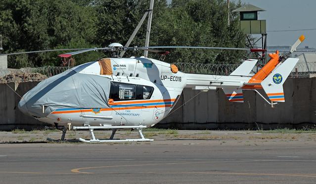 UP-EC018 UAII 14-07-2019 MChS Kazakhstan Eurocopter BK117C-2 CN 9531