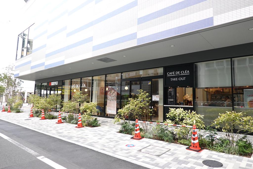 カフェドクレア(東長崎)
