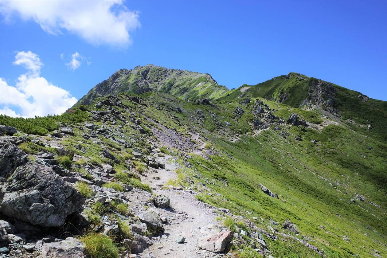 北岳(南アルプス、3193m)