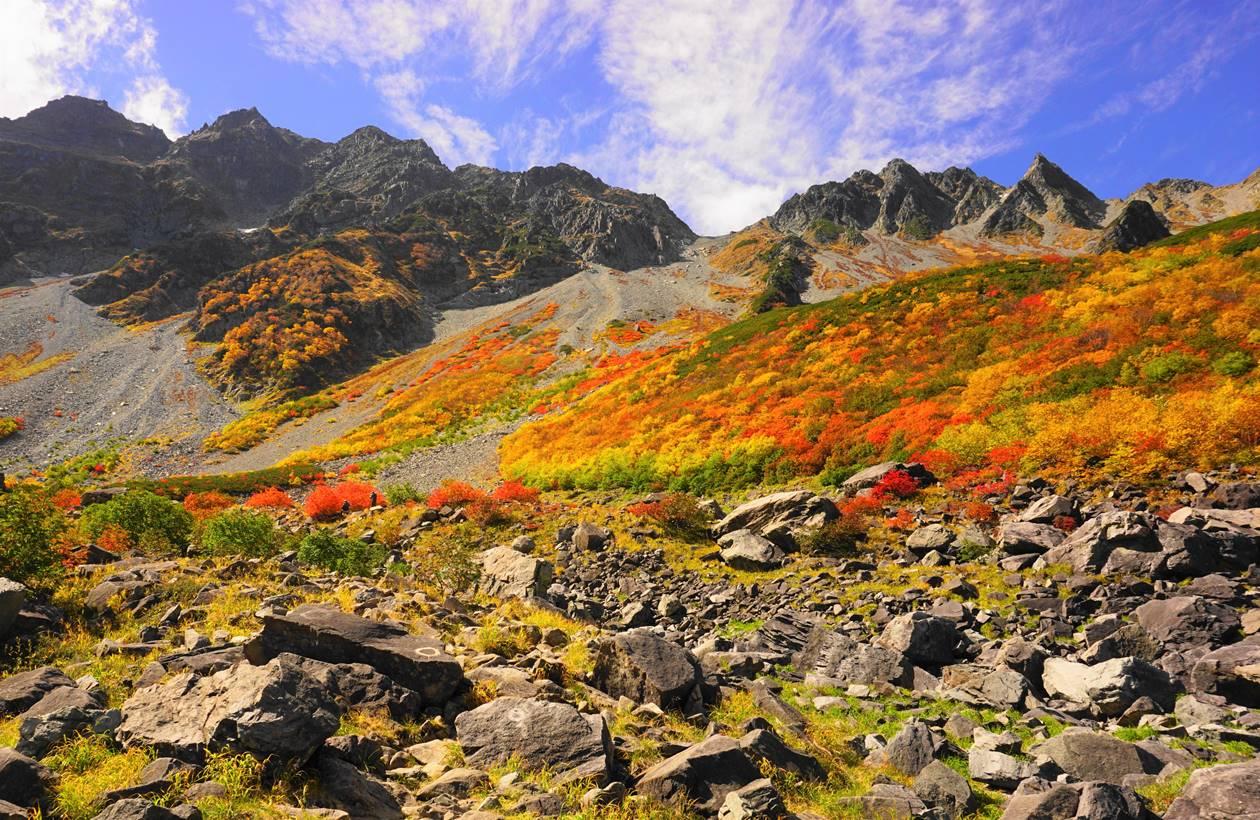 奥穂高岳(北アルプス、3190m)
