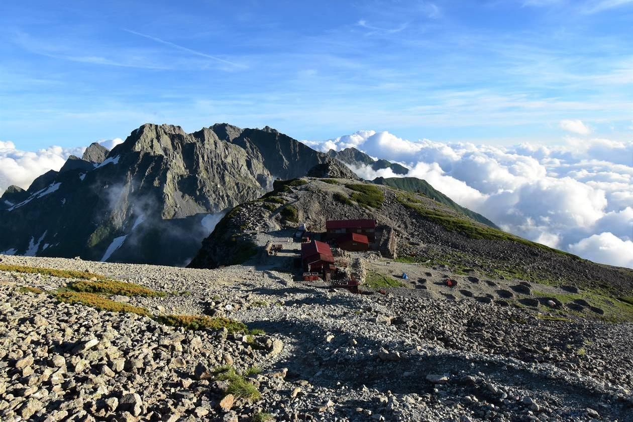 南岳(北アルプス、3033m)