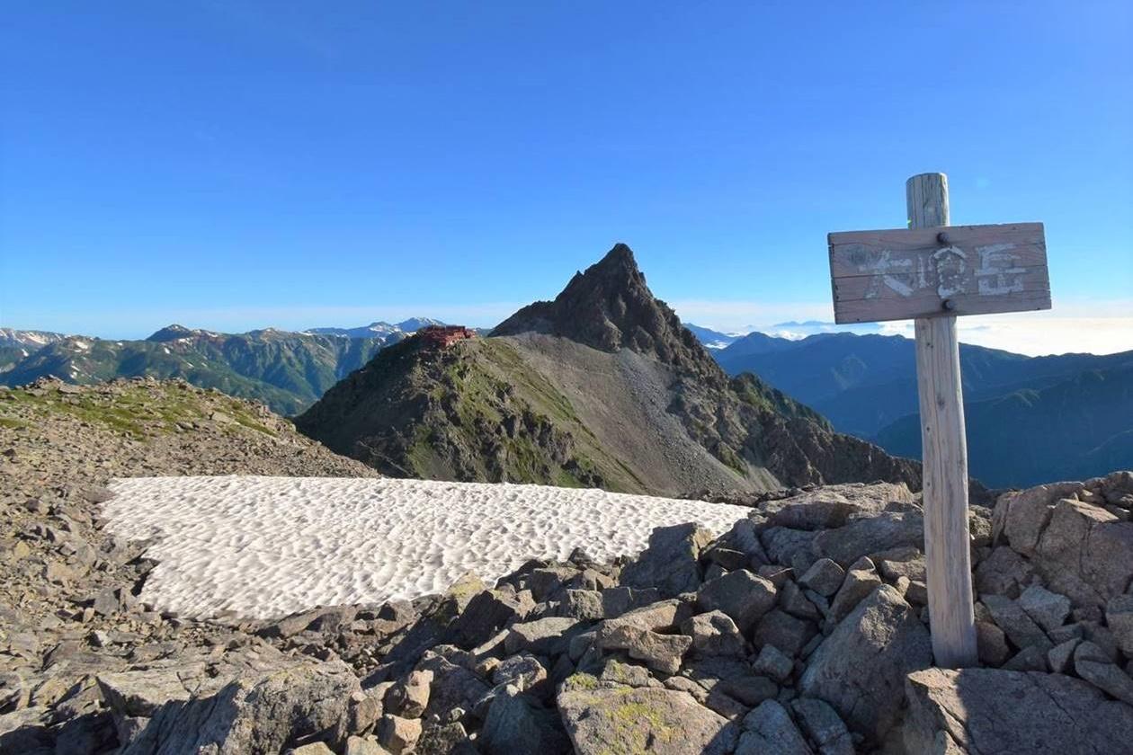 大喰岳(北アルプス、3101m)