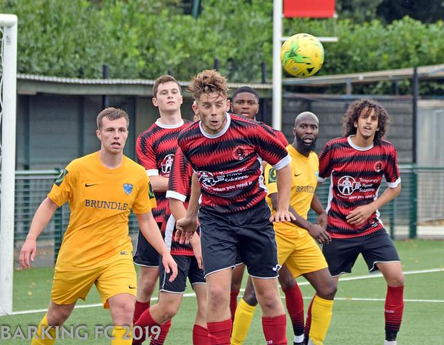 Bedfont  Sports FC v Barking FC - Saturday August 31st 2019