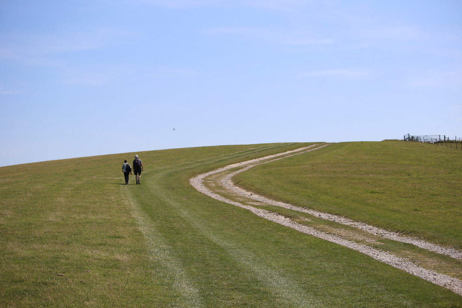 A walk on the top - near Alciston