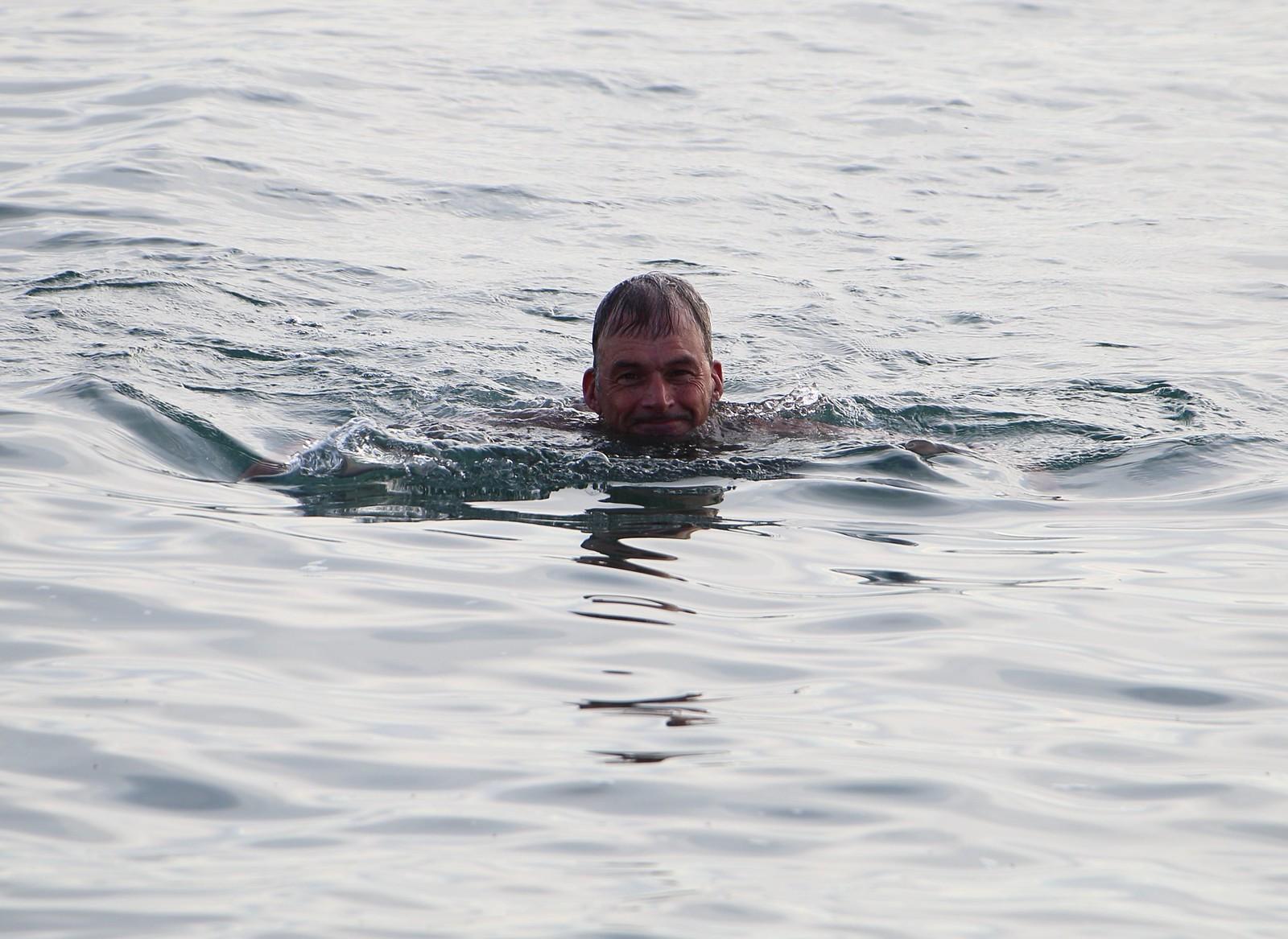 Swimmer - Cuckmere Haven