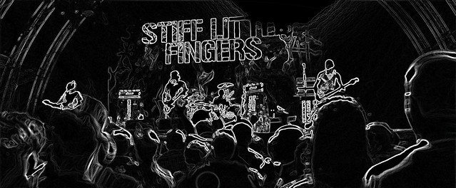 Stiff Little Fingers - at the Glowing Edge