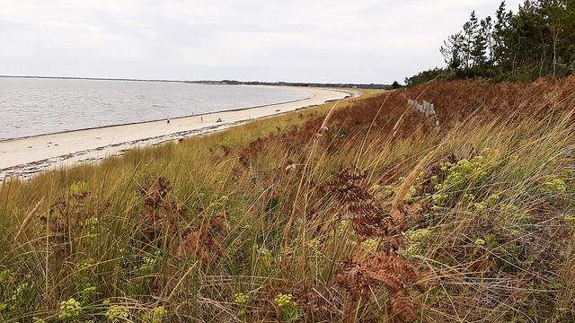 plage de Kerler   mer blanche, Mousterlin