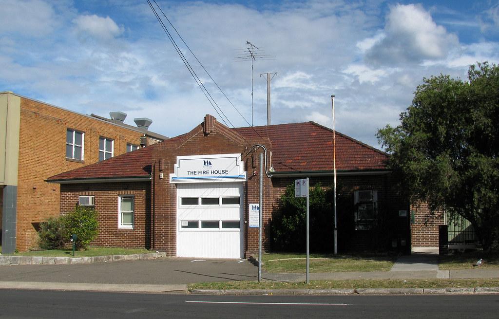 Ex Fire Station, Rockdale, Sydney, NSW.