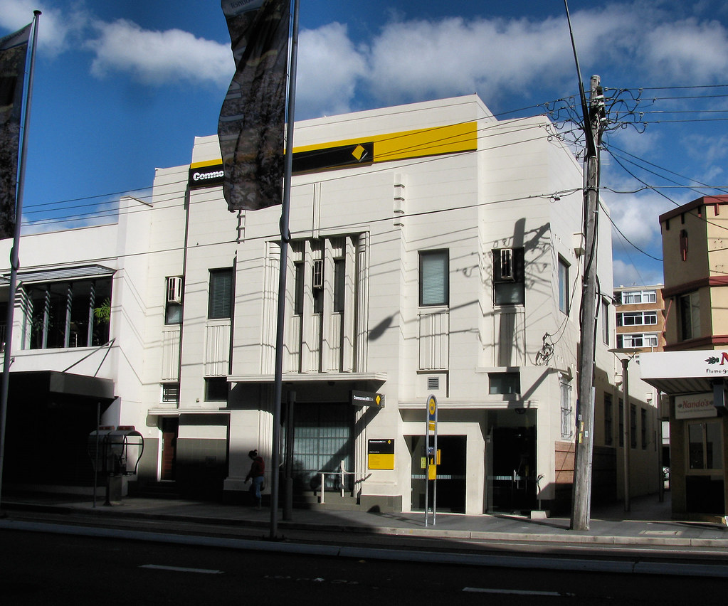 Commonwealth Bank, Rockdale, Sydney, NSW.