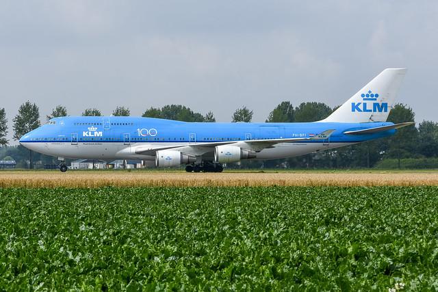 KLM 747-406M PH-BFI
