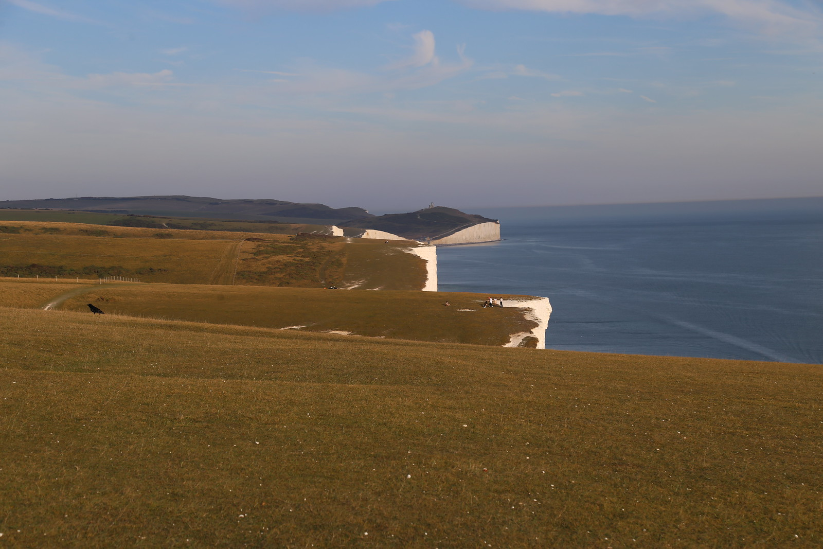 Looking out over the Seven Sisters