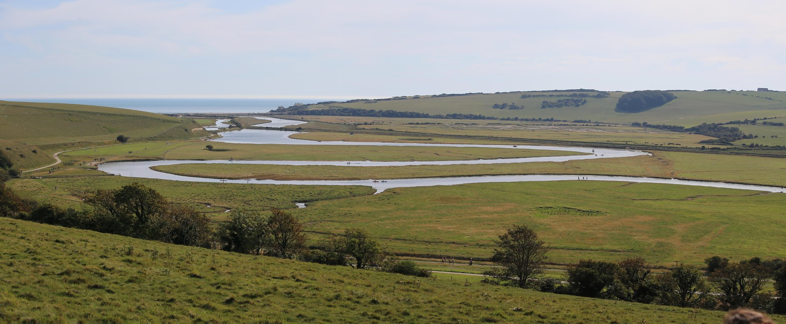 Looking towards Cuckmere Haven