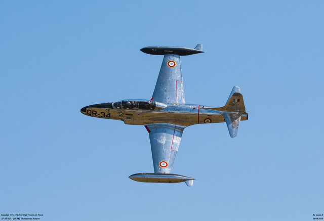 Canadair CT-133 T-33 Silver Star French Air Force (F-AYMD ; QR-34)