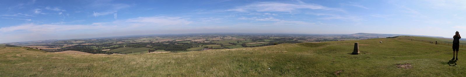 Another view North from the South Downs