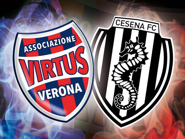 Virtus Verona - Cesena 0-2 FINALE