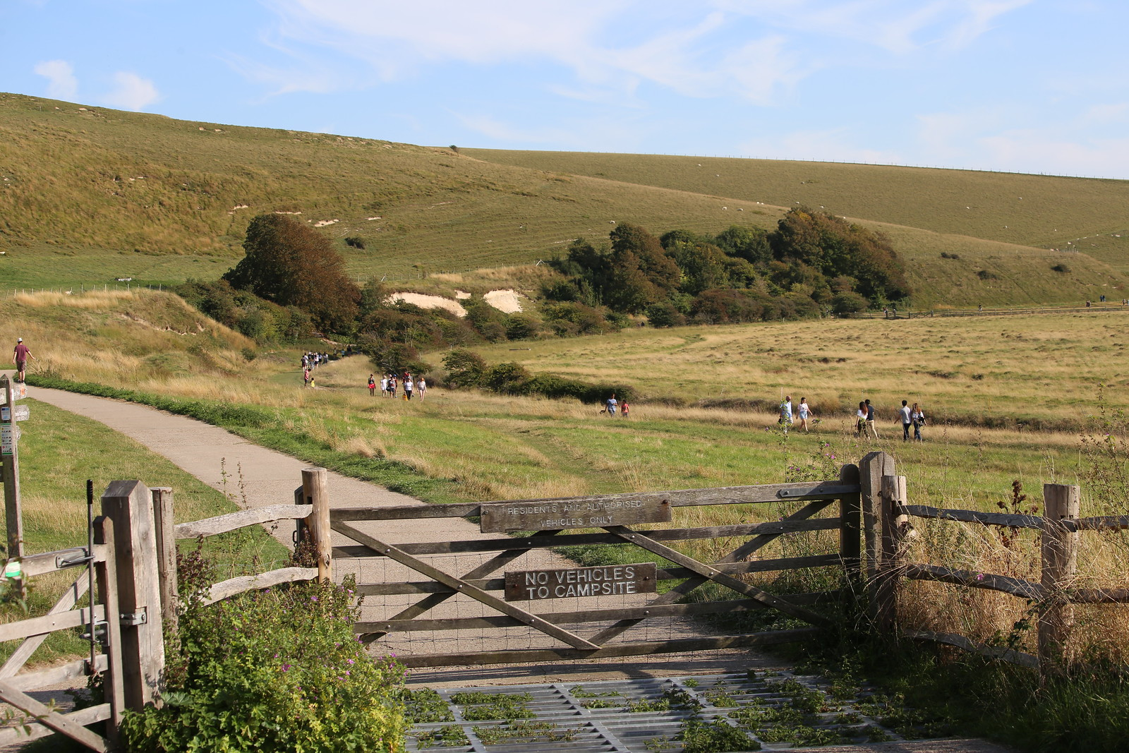 Path to Cuckmere Haven