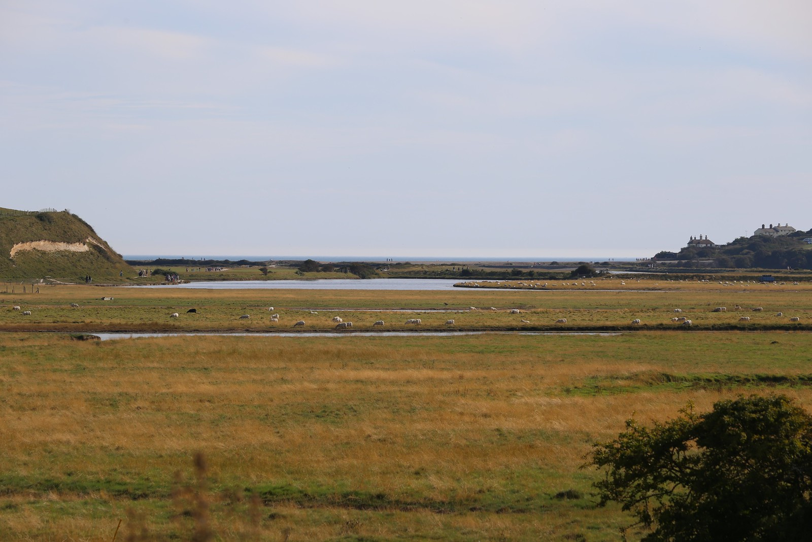 Towards Cuckmere Haven