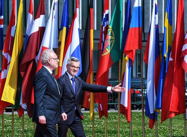 Valsts prezidents Egils Levits piedalās Otrā pasaules kara sākuma 80. gadskārtas pieminēšanas atceres pasākumos Polijā, Varšavā