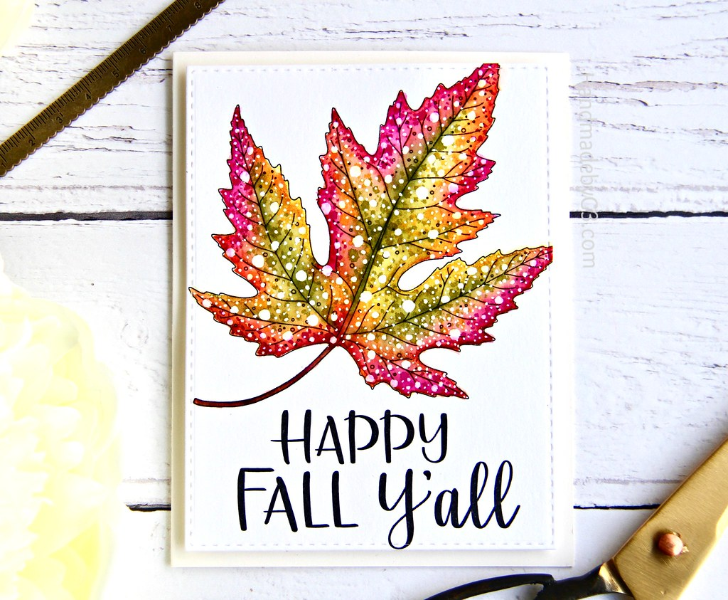 STAMPtember fall card #2
