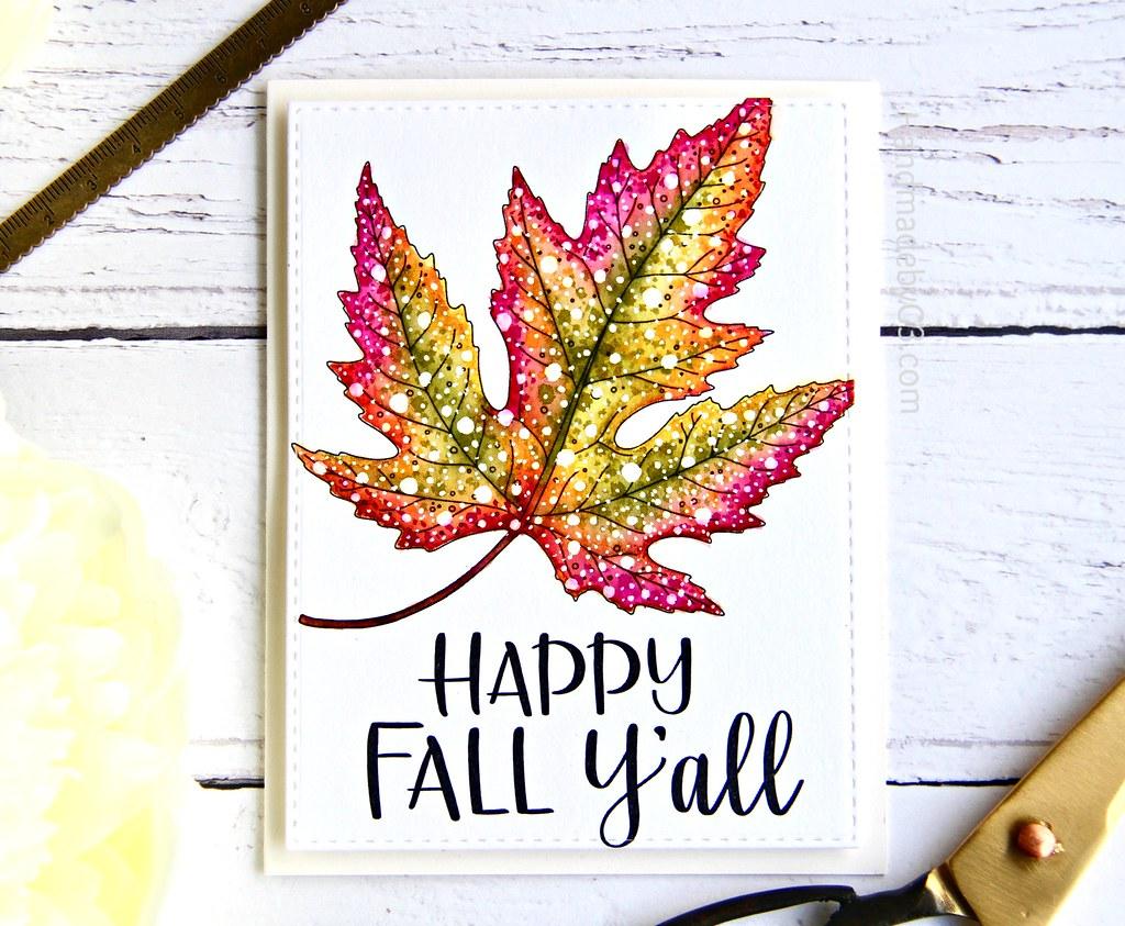 STAMPtember fall card #2