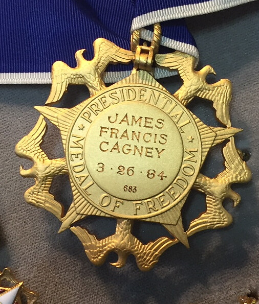 James Cagney Medal of Freedom 2