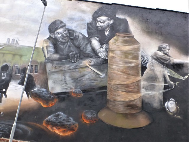 Rochdale Street art = Greater Manchester = LIKE PEAKY BLINDERS ?