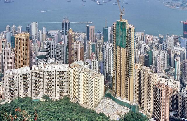 High-rise constructions in Hong Kong (2008)