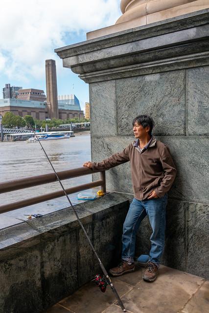 Thames angler