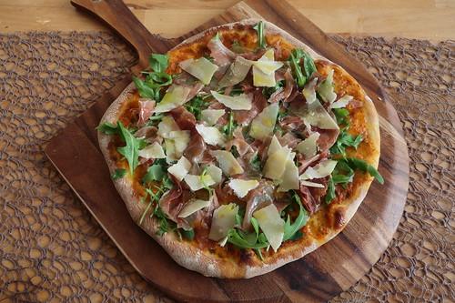 Pizza Parma (zum Teilen)
