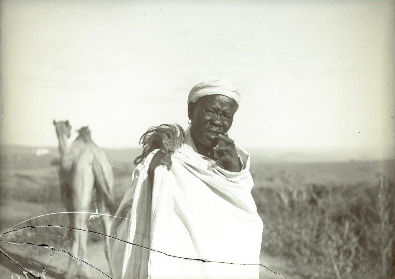 276. Абиссиния, провинция Харар, г. Харар. Тип солдата-шанкала