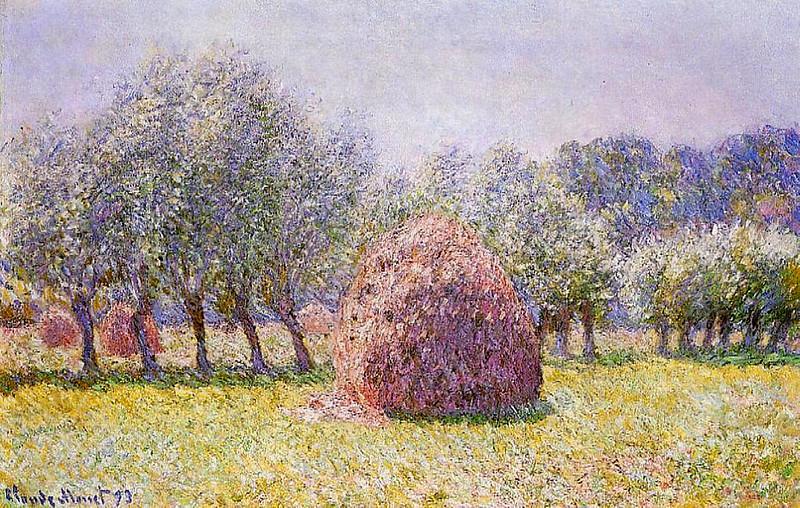 Стог сена, 1893