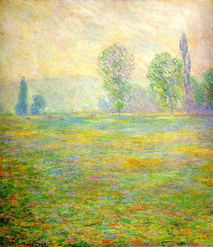 Луга в Живерни, 1888