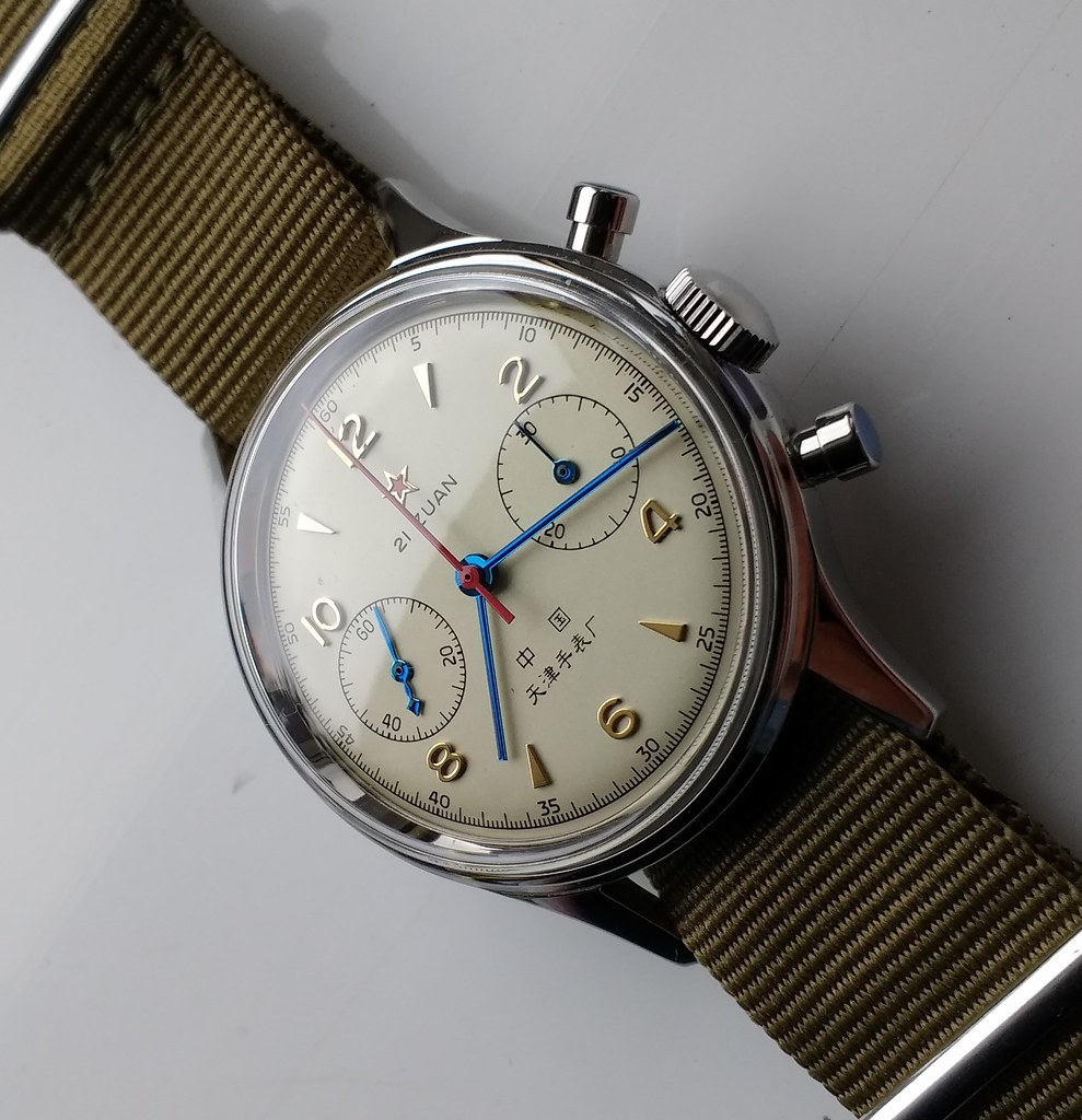 Seagull 1963 Chinese Airforce watch Cal ST19 (4)