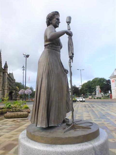 Rochdale Street art = Bronze statue of the singer Gracie Fields = Greater Manchester