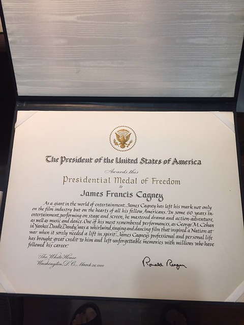 James Cagney Medal of Freedom 5