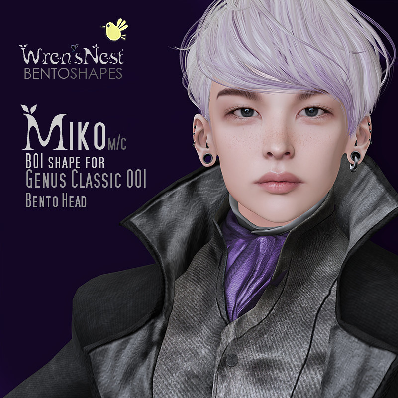{ wren's nest } Miko Shape for Genus Classic