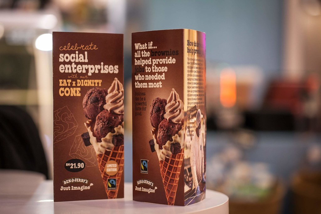 The Launch of Malaysia's First Ben & Jerry's Scoop Shop - Ben & Jerry's Partnership with eat X dignity