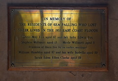 The residents of Sea Palling who lost their lives in the 1953 East Coast Floods