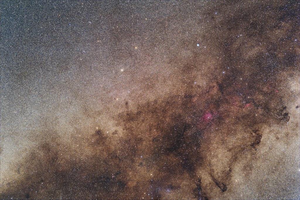 Sagitta and Milky Way