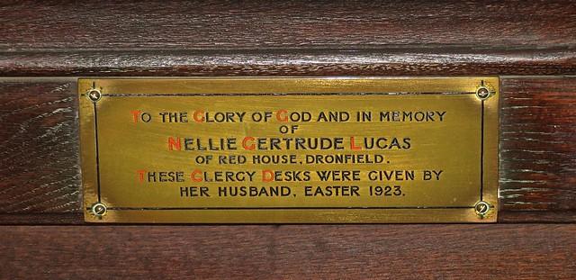 Dronfield Parish Church - Choir Stalls, Poppy Heads and Misericords