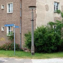 mit Fahnenhalter / Eisenhüttenstadt / 2013