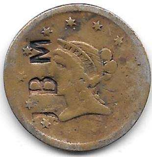 G. Traebing token1 obverse