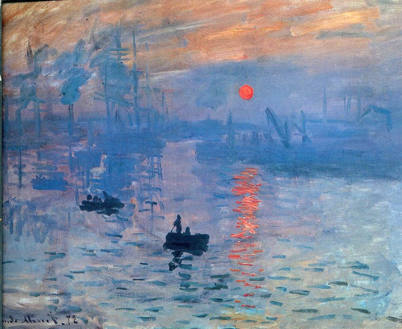 Впечатление. Восход солнца, 1872
