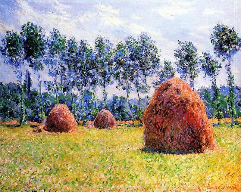 Стога сена в Живерни, 1884