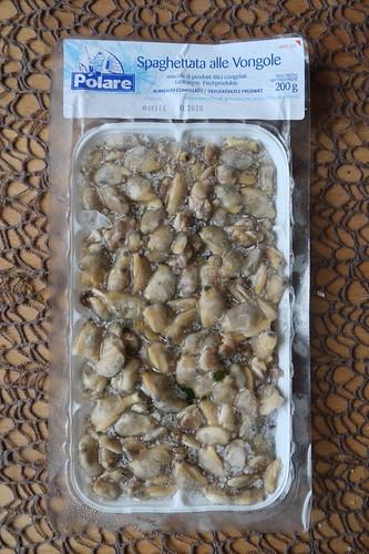 Tiefgefrorene Venusmuscheln