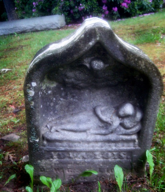 Child tomb stone Cemetery 3147A