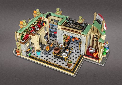 Ratatouille Kitchen - Lego IDEAS project
