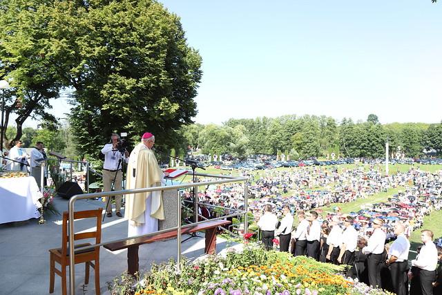 Uroczystość ku czci Matki Bożej Kębelskiej, Wąwolnica, 1 IX 2019 r.